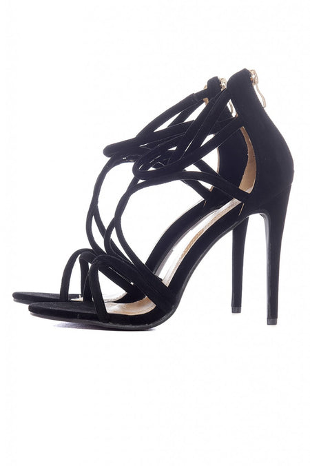 Multi Strap Pointed Heels