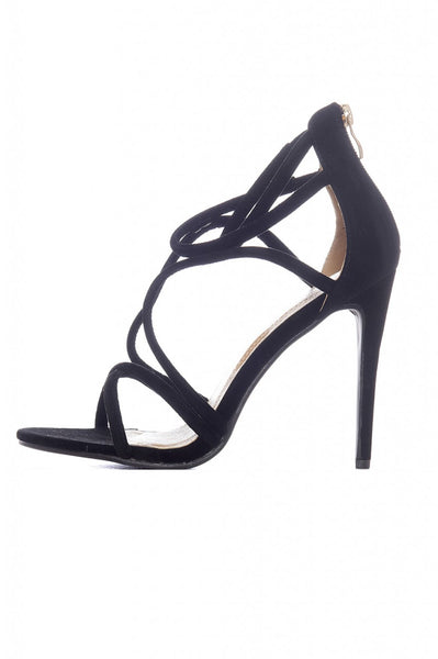 Crossover Strappy Heels
