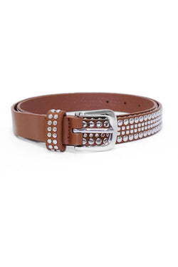 Tan Studded Belt