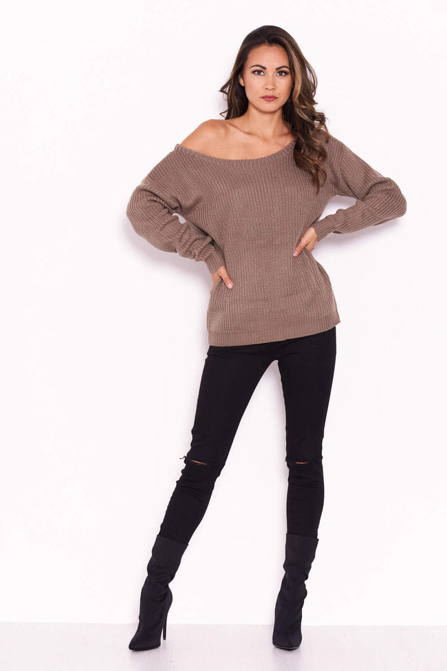 Taupe Cosy Jumper