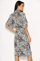 479bd7629f Zebra Print Frill Dress – AX Paris