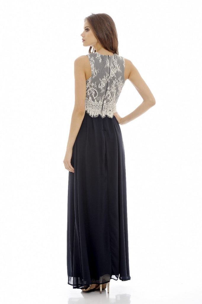 Lace Top  Maxi  Dress