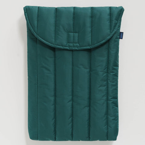 PUFFY LAPTOP SLEEVE 16 MALACHITE