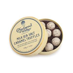 MILK SEA SALT CARAMEL TRUFFLES 105 GRAM
