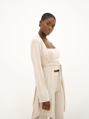 Lounge Robe - Beige