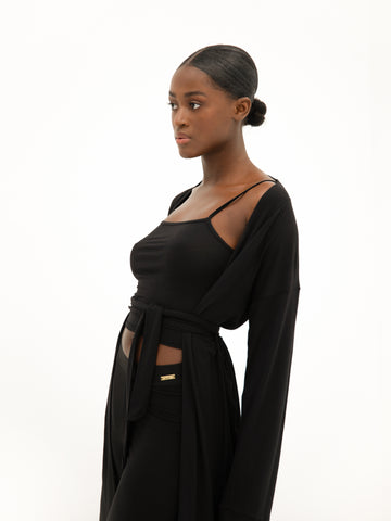 Lounge Robe - Black