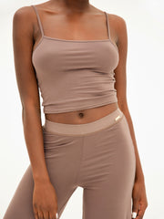 Lounge Top - Taupe