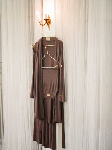 Lounge Robe - Taupe