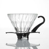 Hario V60 Glass Dripper Black - Maven Coffee Store