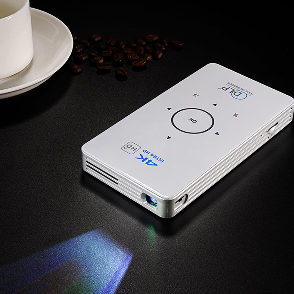 Smart Android Wi-fi 4K Ultra Mobile Wireless Projector