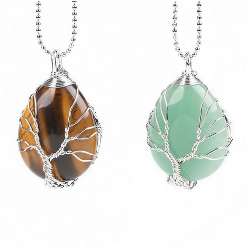 Cristal tree of life Necklace