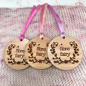 Fibre Fairies - Three Cedar Wood Moth Repellent hanging discs