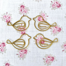 Birdie Paper Clips - set of four
