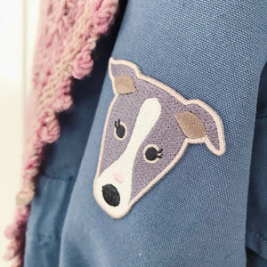 Miss Mabel Whippy Iron-on Embroidered Fabric Patch