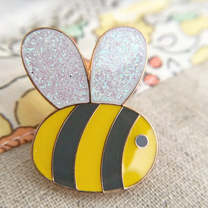Sweet Bee Enamel pin