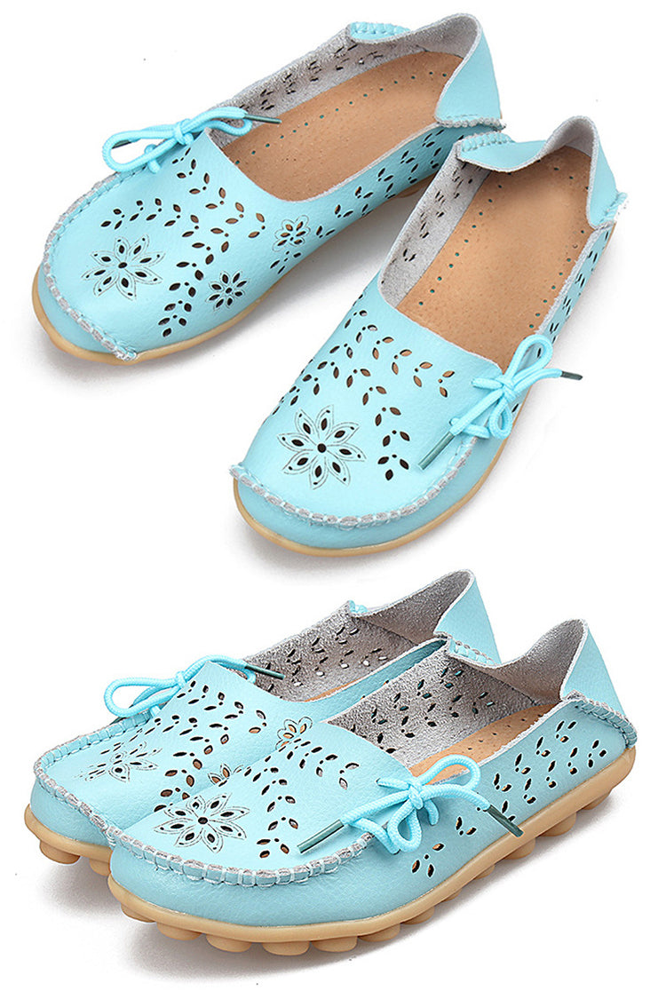 Moccasin Mood Flat Shoes - Eight Colors - La Splendour