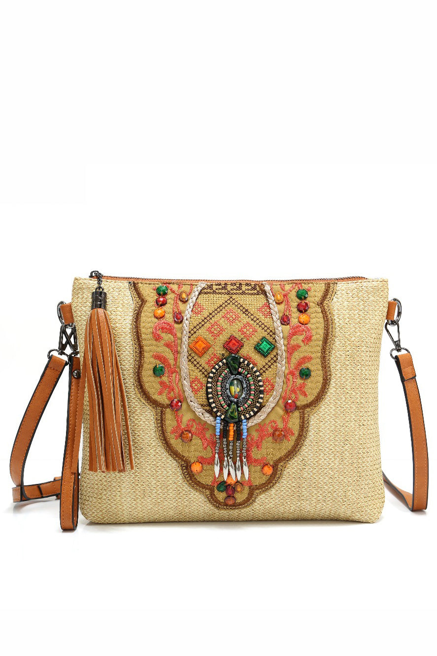 Sacred - Ethnic Cross-body In Two Colors - La Splendour