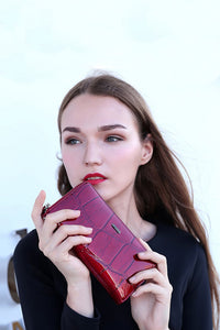Shine - Leather Wallet In Ten Colors - La Splendour