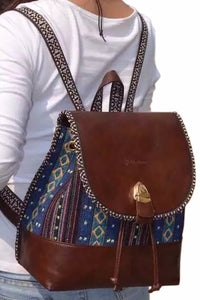 Tradition - Ethnic Backpack In Two Colors - La Splendour