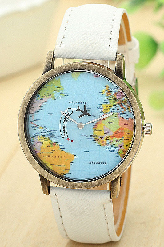 Travel Addict Quartz Timepiece - La Splendour