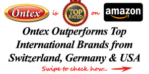 Ontex outperforms Top International brands from Switzerland, Germany and USA