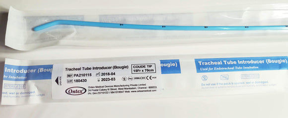 ONTEX Adult Endotracheal Tube Introducer Bougie for Intubation