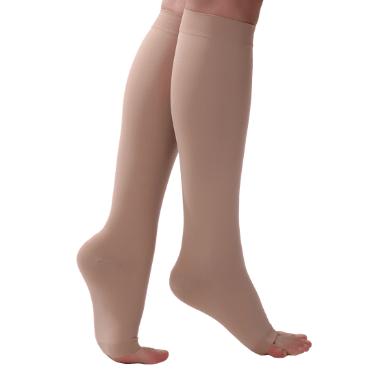 Ontex Cotton Compression Stockings Knee Length for Varicose Veins