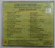 Melody Waves Vol-2 ( Instrumental Tamil Film Tunes On Saxophone ) Kadri Gopalnath