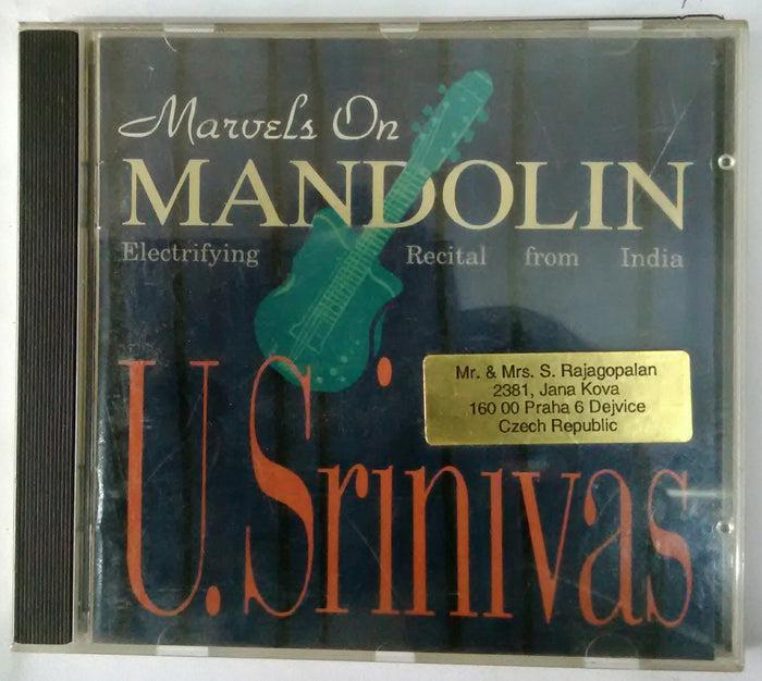 Marvels On Mandolin Master U. Srinivas
