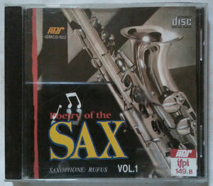 Poetry Of The Sax Vol -1 ( Saxophone : Rufus )