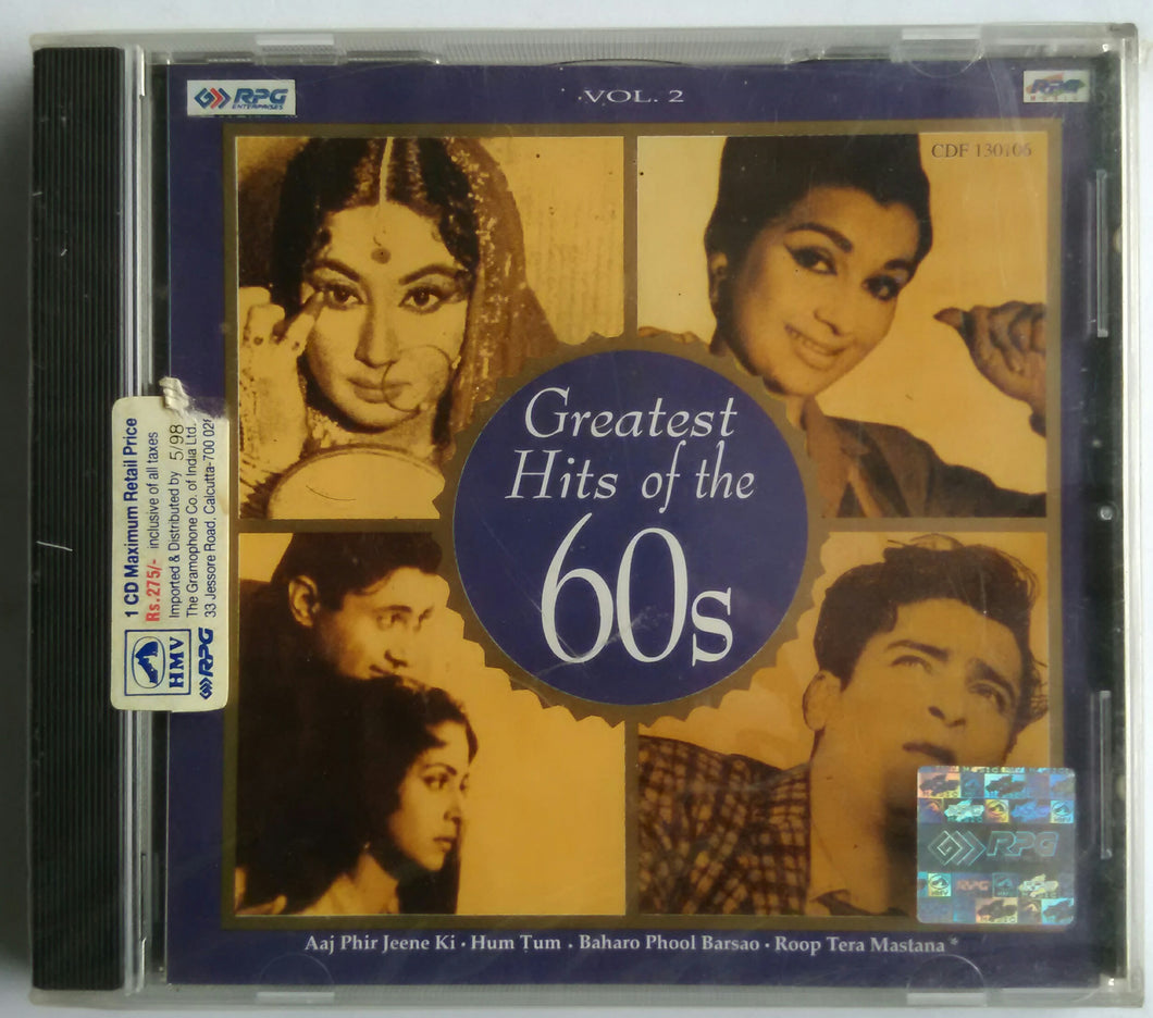 Greatest Hits Of The 60s Vol -2