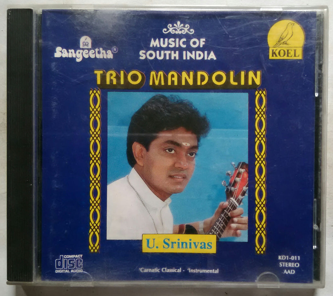Music Of South India Trio Mandolin U. Srinivas ( Carnatic classical Instrumental )