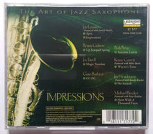The Art Of Jazz Saxophone - Impressions