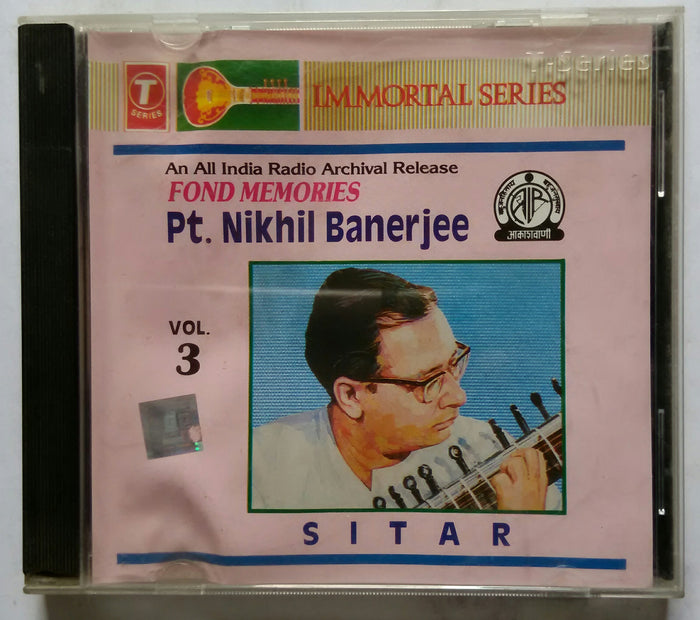 An All India Radio Archival Release Fond Memories P. T. Nikhil Banerjee : Sitar