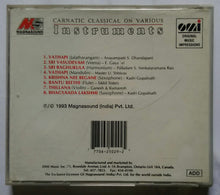 Carnatic classical On Various Instruments