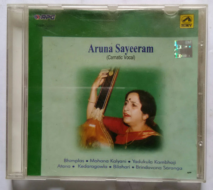Aruna Sayeeram ( Carnatic vocal )