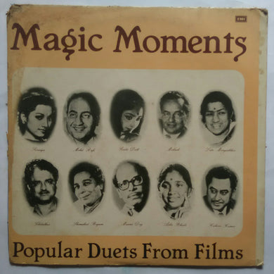 Magic Moments : Popular Duets From Films