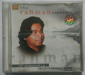 The Rahman Experience ( 10 Memorable a. r. rahman hits )