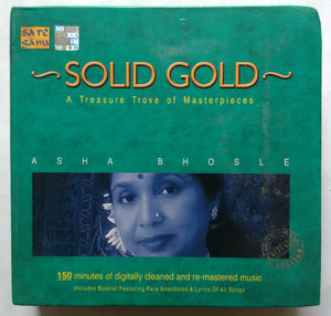 Solid Gold A Treasure Trove Of Masterpieces Asha Bhosle ( 2 CD collection )