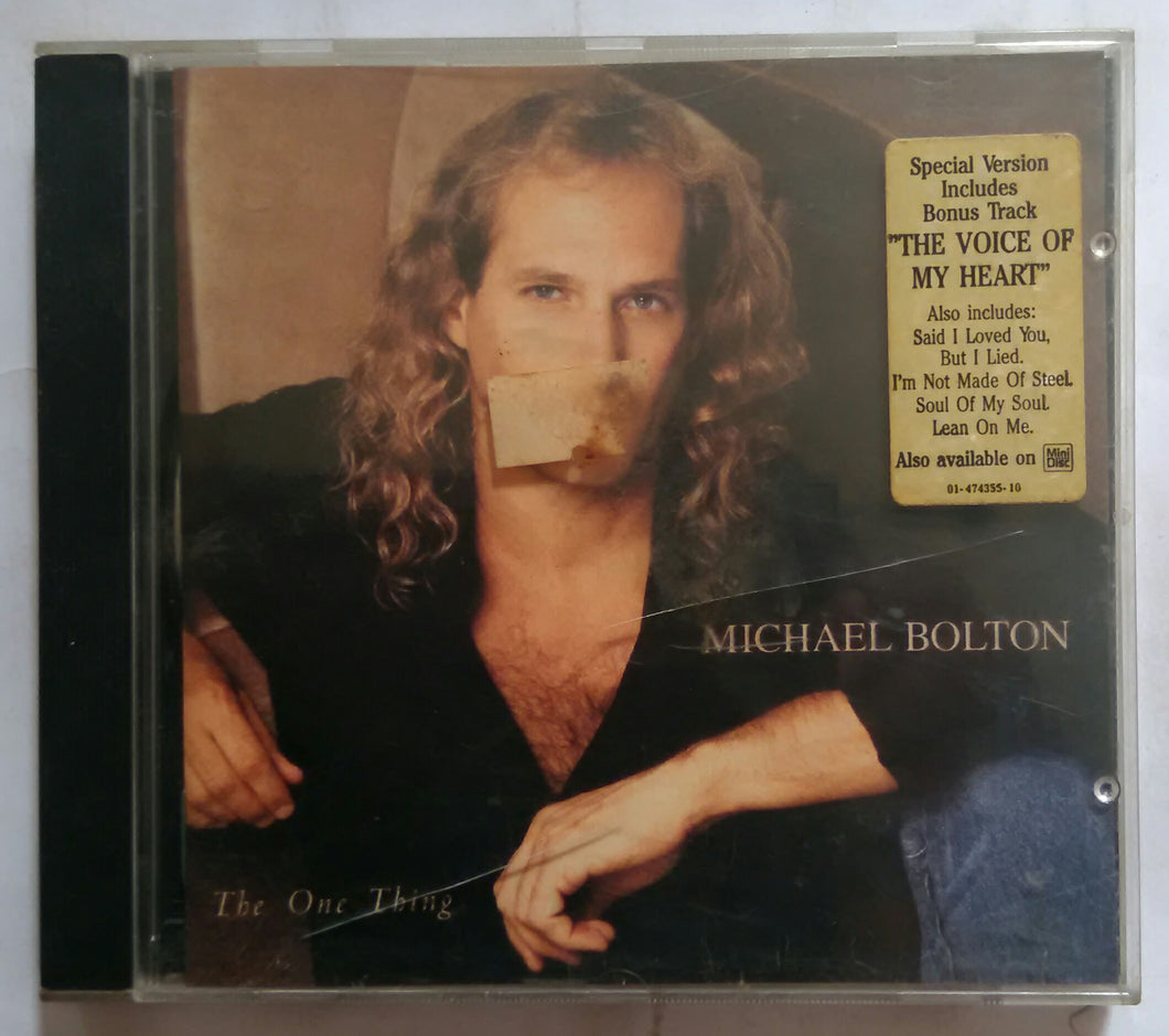 Michael Bolton - The One Thing
