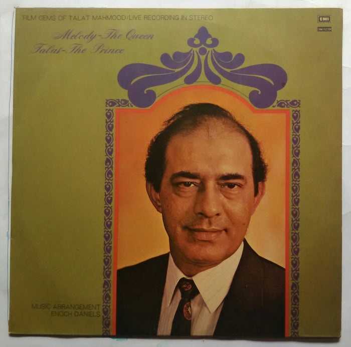 Film Gems Of Talat Mahmood Live Recording In Stereo ( Molody - The Queen Talat - The Prince )