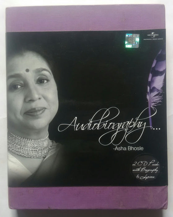Audiobiogrphy - Asha Bhosle ( 2 CD Pack )