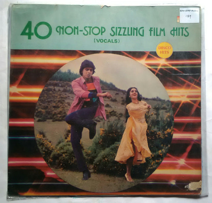 40 Non - Stop Sizzling Film Hits ( Vocals ) Disco Hits