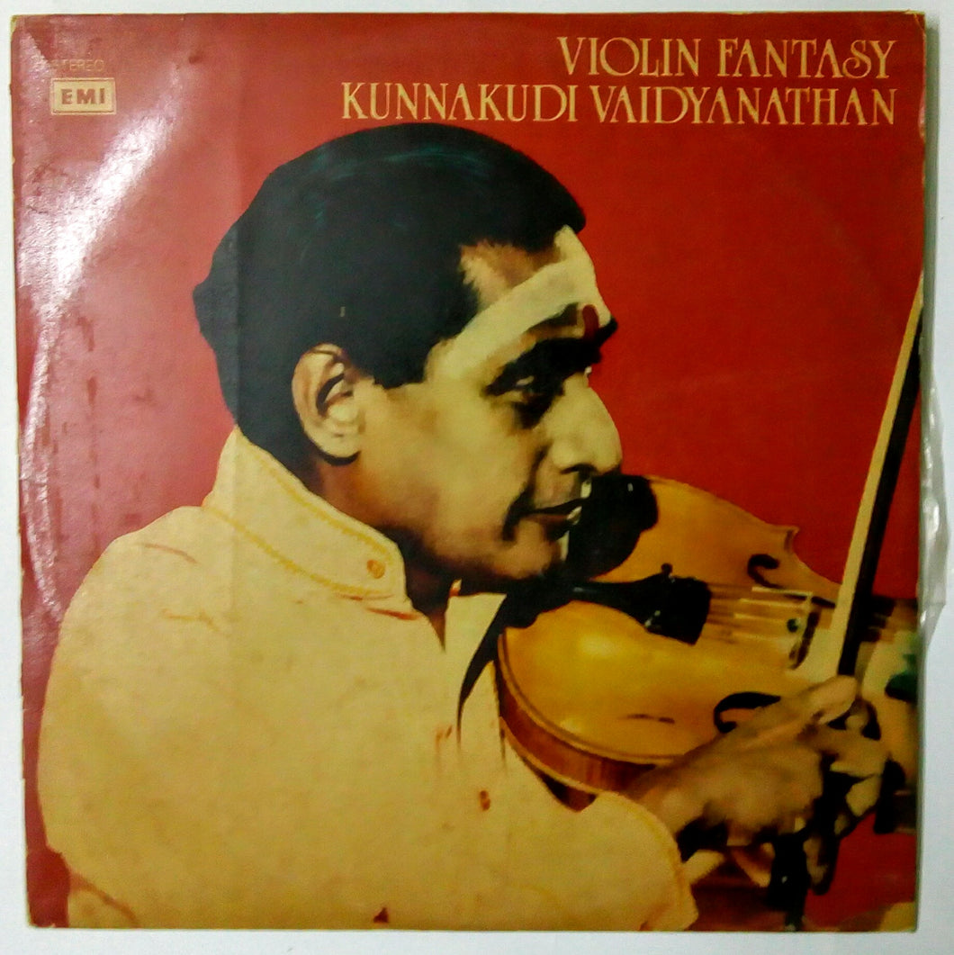 Buy rare EMI vinyl record of kunnakkudi vaidyanathan and valayapatti tavil online from avdigitals.in