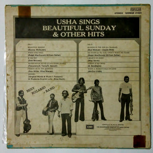 Buy Usha Sings with Beautiful Sunday & Other Hits Vinyl, LP, Album online from avdigital.in
