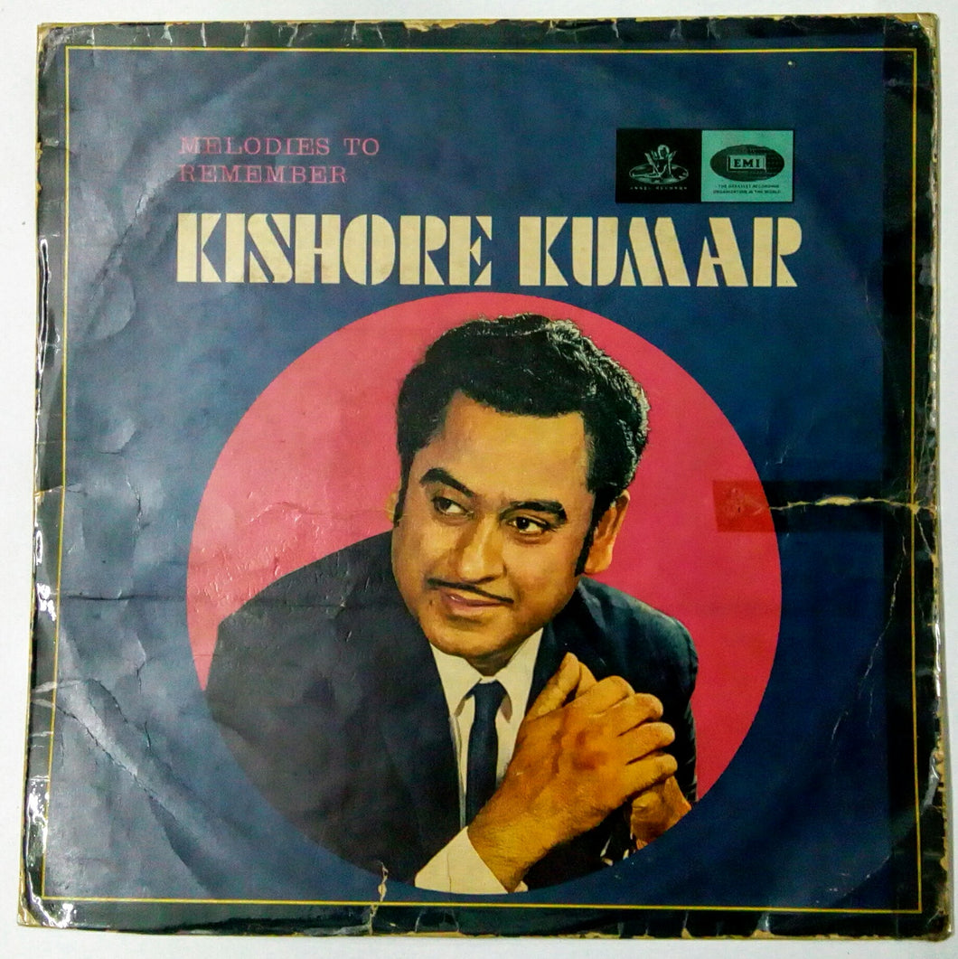Buy Melodies To Remember Kishore Kumar Vinyl, LP, Album online from avdigital.in.
