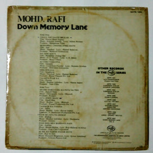 Buy Hindi film songs of Mohd Rafi Vinyl LP record online from avdigital.in