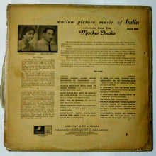 Buy Hindi film Mother India Vinyl LP record online from avdigital.in. Naushad Ali Hindi vinyl record collection.