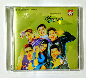 Buy Tamil audio cd of Boys online from avdigitals.