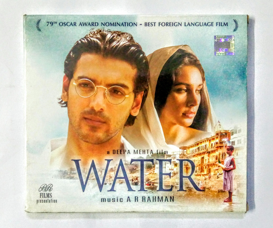 Buy Hindi audio cd of water online from avdigitals. AR Rahman Hindi audio cd online.